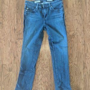 Adriano Goldschmied stretch cropped denim jeans